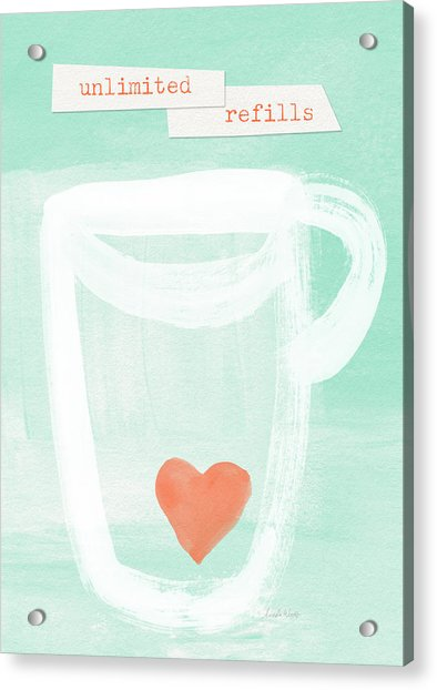 Unlimited Refills- Art By Linda Woods Acrylic Print