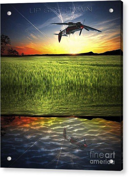 Up Side Dawn Acrylic Print