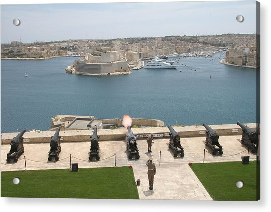 Photograph - Upper Barrakka Saluting Battery by Travel Pics