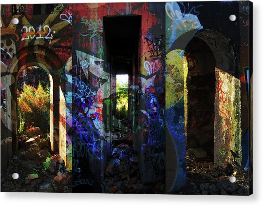 Urban Passages #2 Acrylic Print