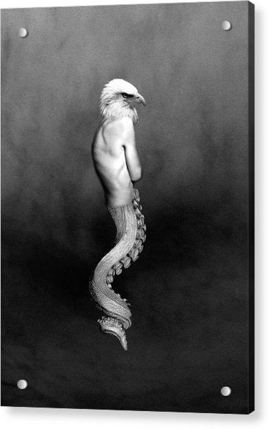 Ureal Female Portrait Wall Art Decor Print Acrylic Print