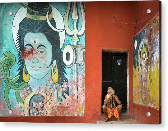 Varanasi, India Acrylic Print