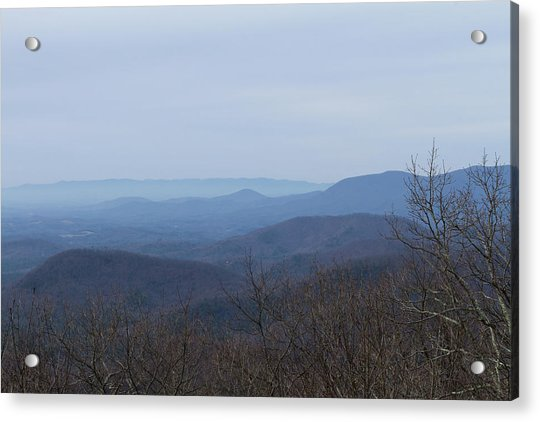 View From Springer Mountain Acrylic Print