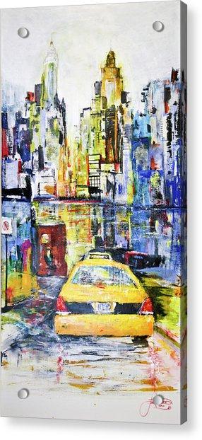 View To Manhattan Acrylic Print