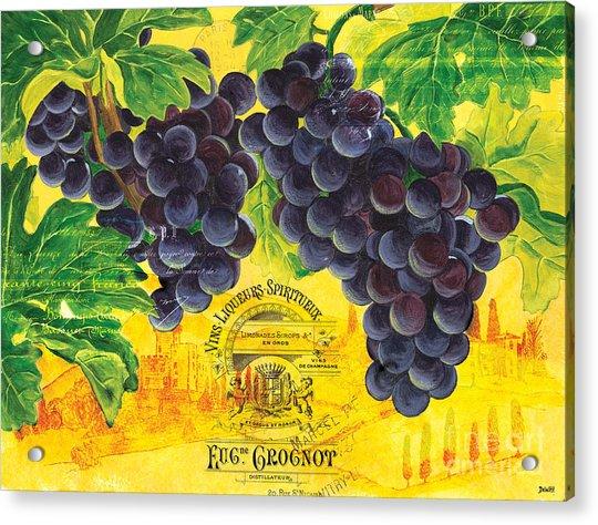 Vigne De Raisins Acrylic Print