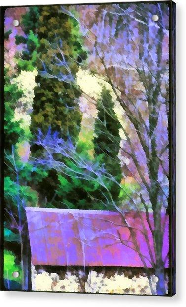 Virginia Barn Acrylic Print