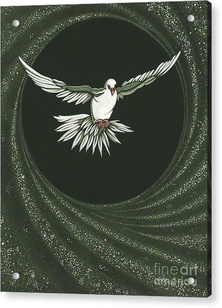Viriditas-holy Spirit Detail Acrylic Print