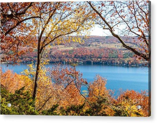 Vista From Garrett Chapel Acrylic Print