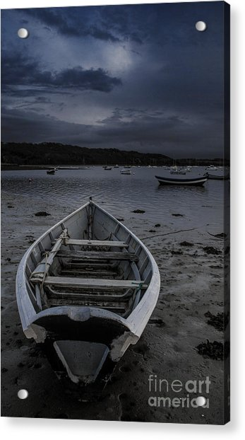 Waiting For The Tide Acrylic Print
