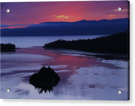 Wake Up In Lake Tahoe  Acrylic Print