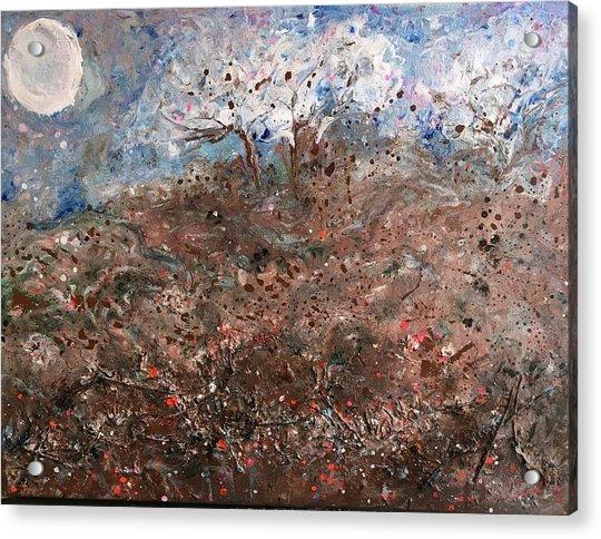 Walk Across The Windy Moor Acrylic Print