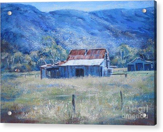 Warby Hut Acrylic Print