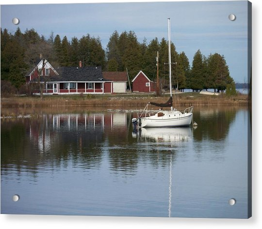 Washington Island Harbor 4 Acrylic Print