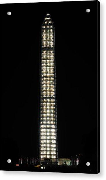 Washington Monument In Repair Acrylic Print