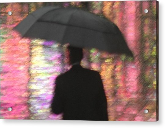 Water And Colors Acrylic Print by Dan Holm