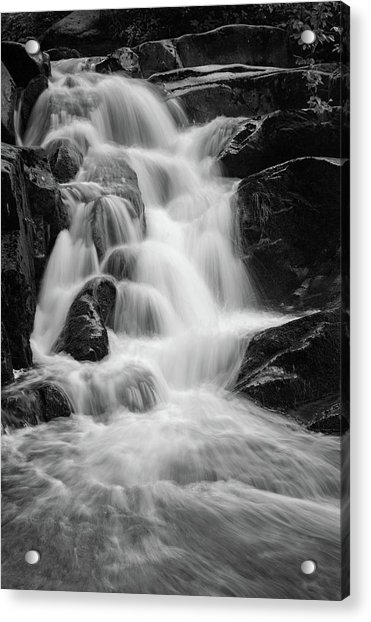 water stair close to the Heinrich Heine hiking way, Harz Acrylic Print