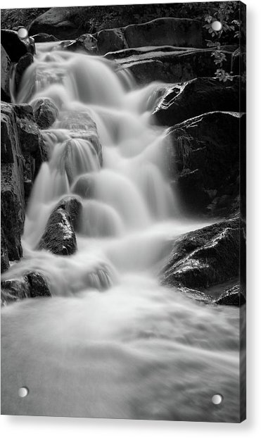 water stair in Ilsetal, Harz Acrylic Print