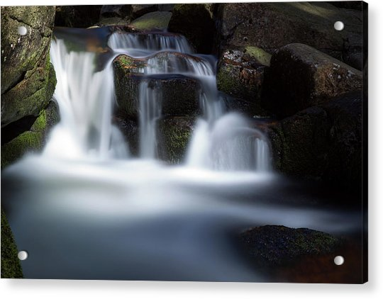 Water Stair - Long Exposure Version Acrylic Print