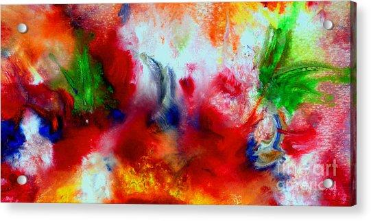 Watercolor Abstract Series G1015a Acrylic Print
