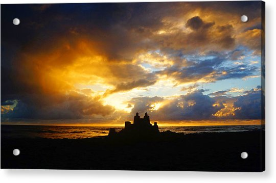 Waterfront Castle Of Your Own Acrylic Print