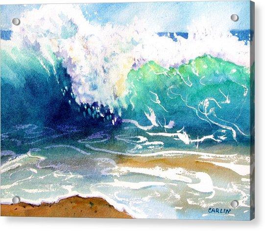 Wave Color Acrylic Print