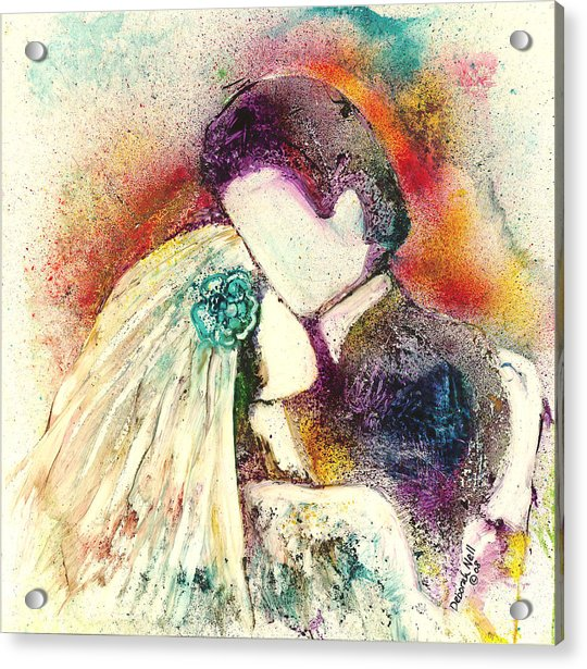 Wedding Day Acrylic Print