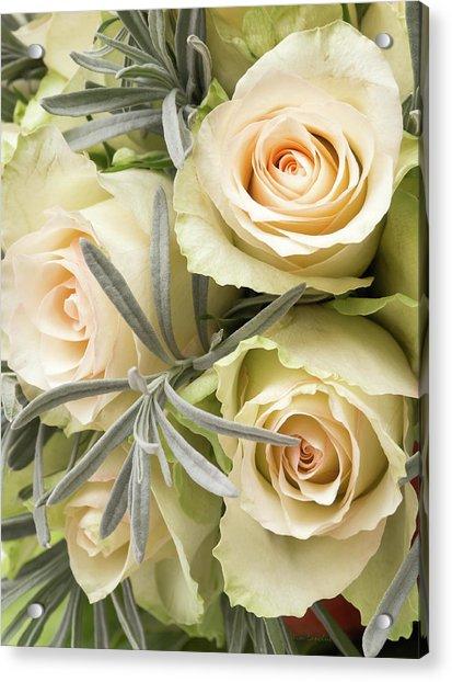 Wedding Flowers Acrylic Print