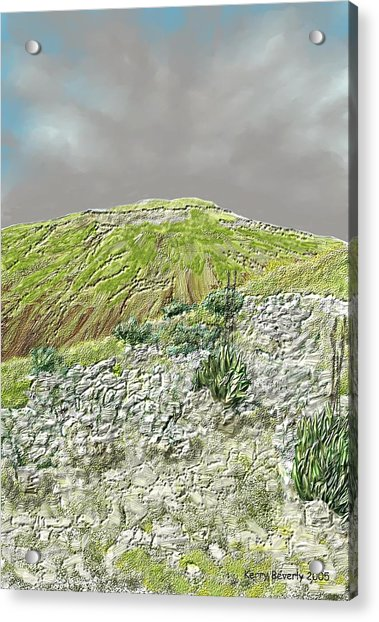 West Of The Hill Country Acrylic Print