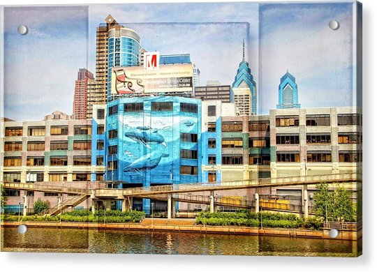 Acrylic Print featuring the photograph Whales In The City by Alice Gipson