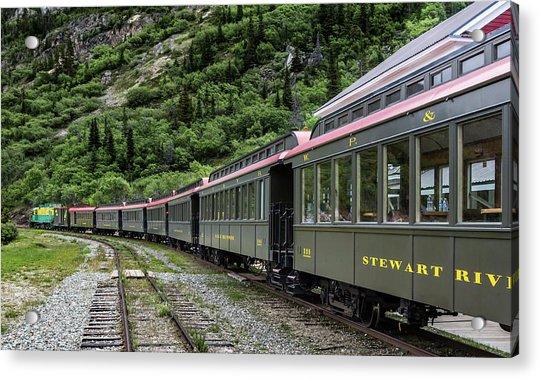 White Pass And Yukon Railway Acrylic Print