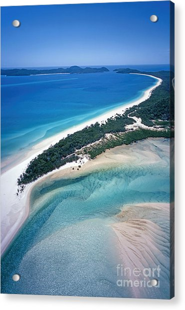 Acrylic Print featuring the photograph Whitsunday Islands by Juergen Held