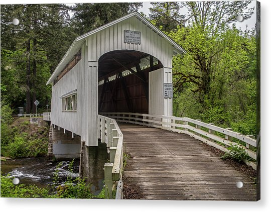 Wildcat Creek Bridge No. 1 Acrylic Print