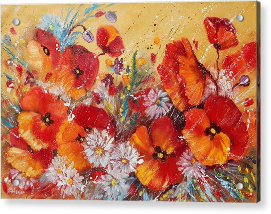 Wildflower Meadows Acrylic Print