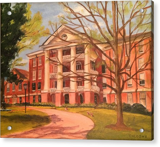 William Peace University Acrylic Print