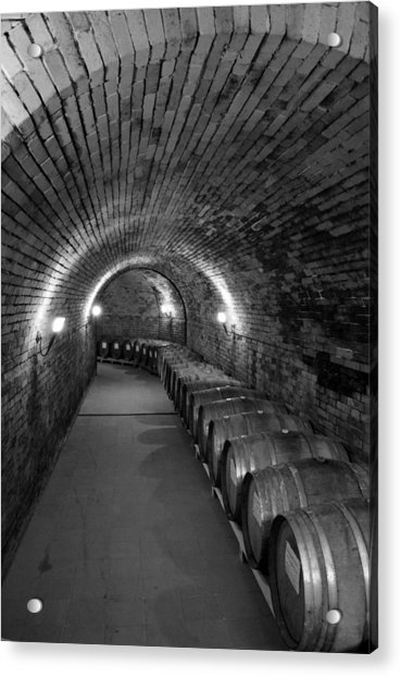 Wine In Waiting Acrylic Print