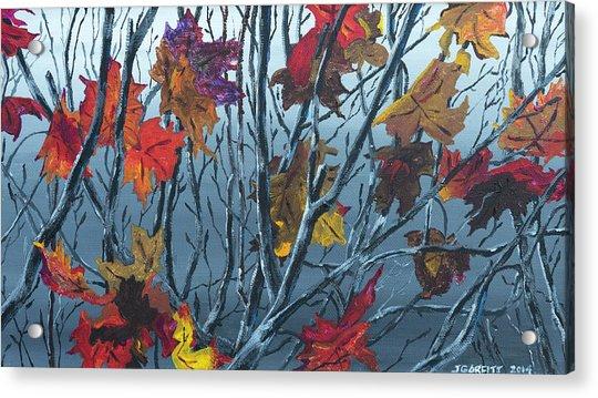 Winter Maple Acrylic Print