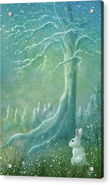 Winters Coming Acrylic Print