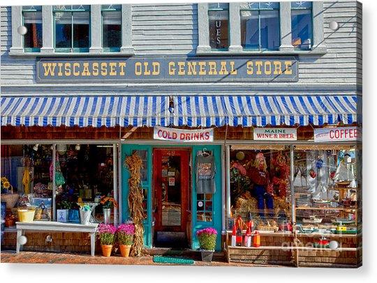 Wiscasset General Acrylic Print