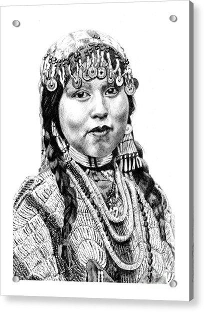 Wisham Bride Acrylic Print