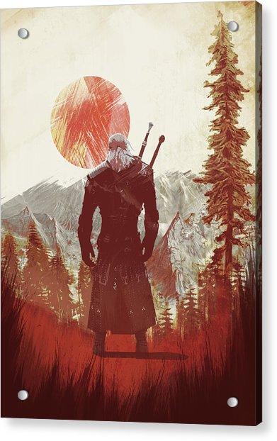 Witcher 3 Acrylic Print