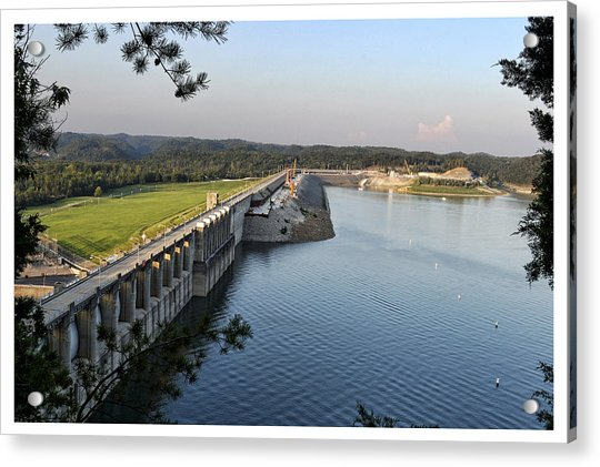 Wolf Creek Dam Acrylic Print