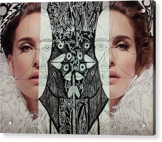 Woman 6 Acrylic Print