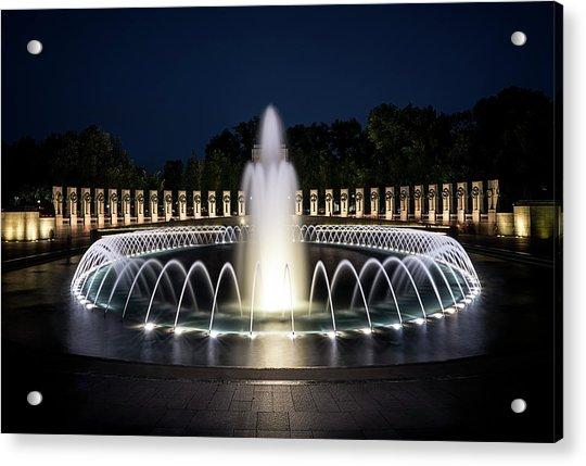 World War 2 Monument Acrylic Print