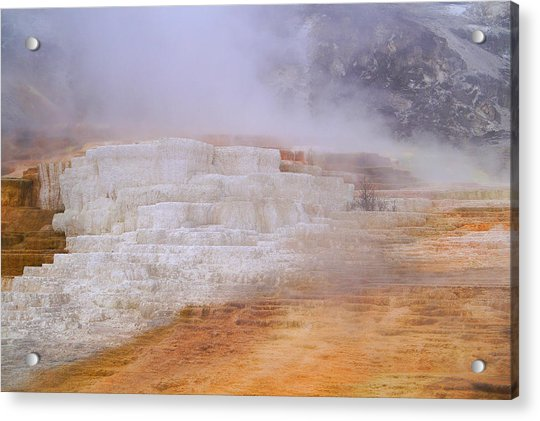 Yellowstone Magic Acrylic Print