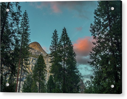 Yosemite Campside Evening Acrylic Print
