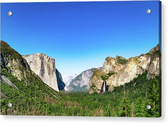 Yosemite Valley- Acrylic Print