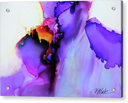 You Set My Soul On Fire Acrylic Print