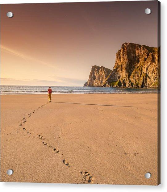 Your Own Beach Acrylic Print