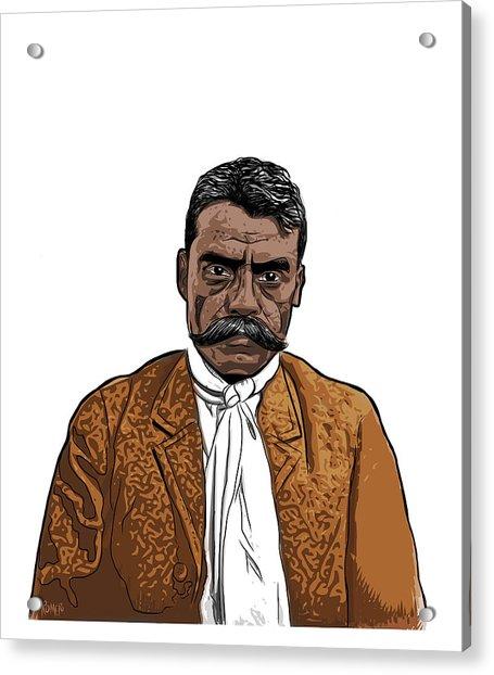 Zapata Acrylic Print
