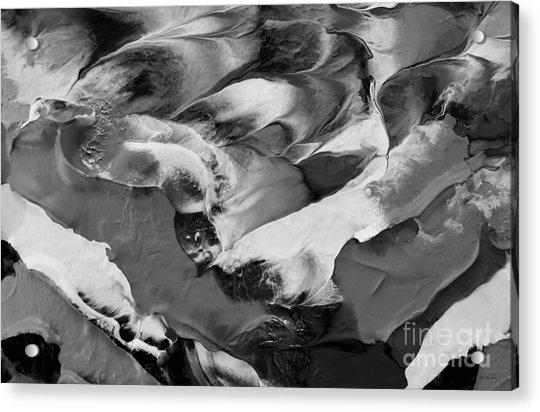 Zen Abstract Series N1015al Acrylic Print